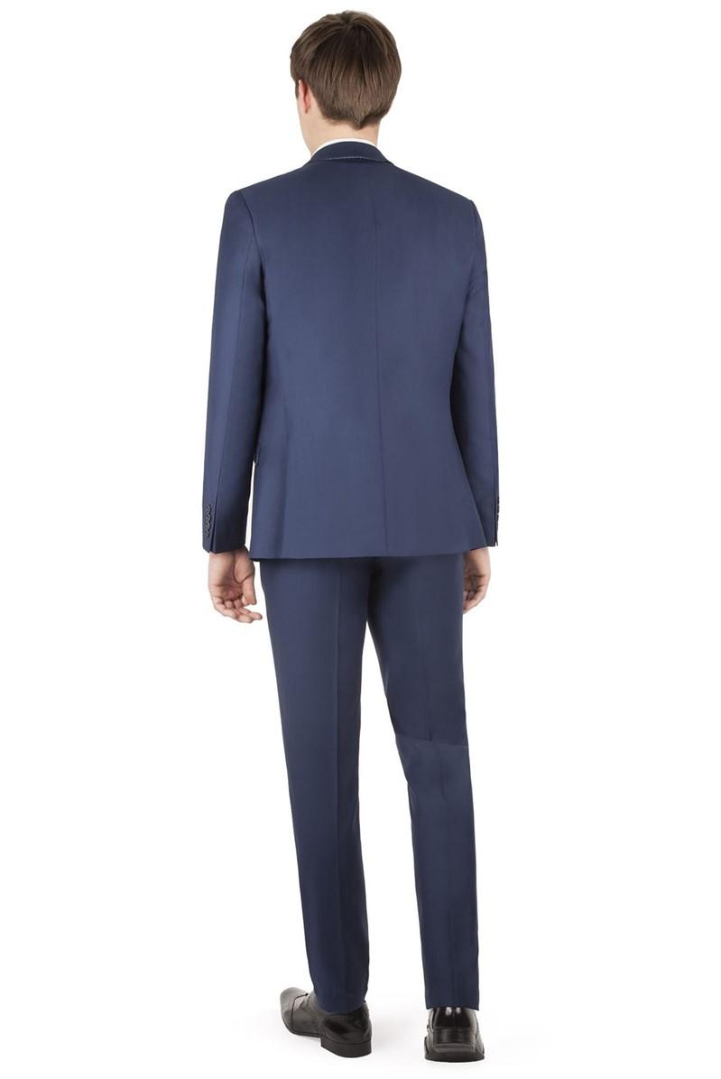 Sapphire Twill Slim Fit Waistcoat
