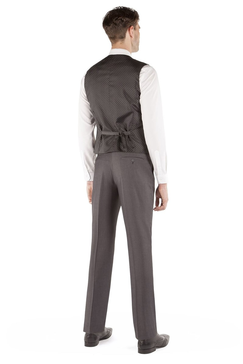 Grey Tonic Waistcoat