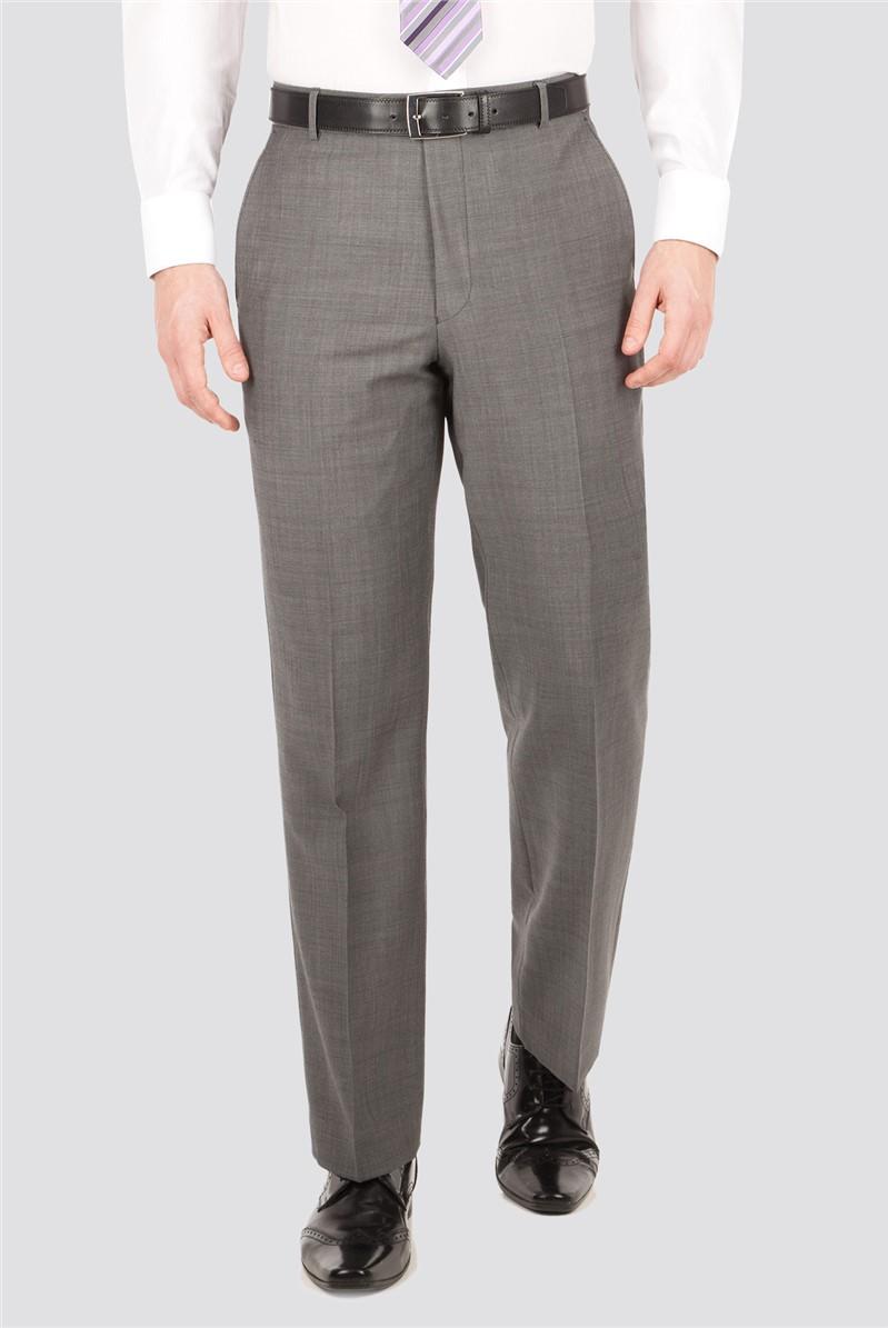 Grey Sharkskin Regular Fit Suit