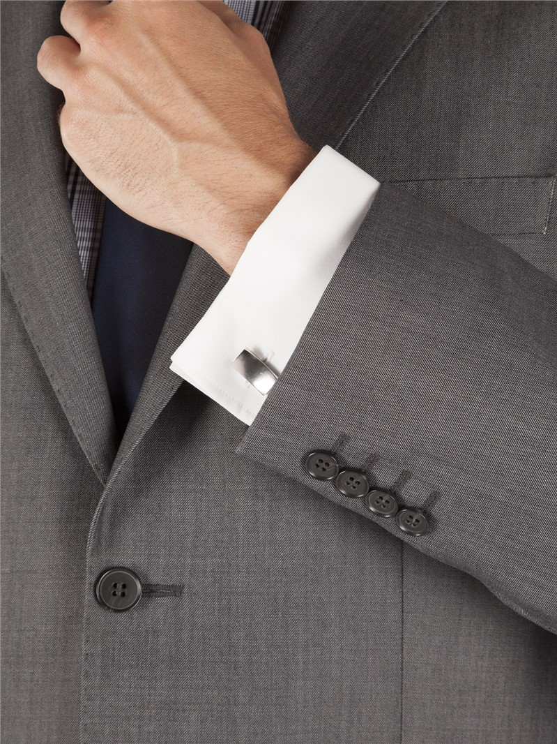 Grey Tonic Wool Blend Waistcoat