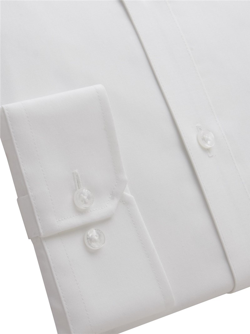 Hardie White Tailored Fit Shirt