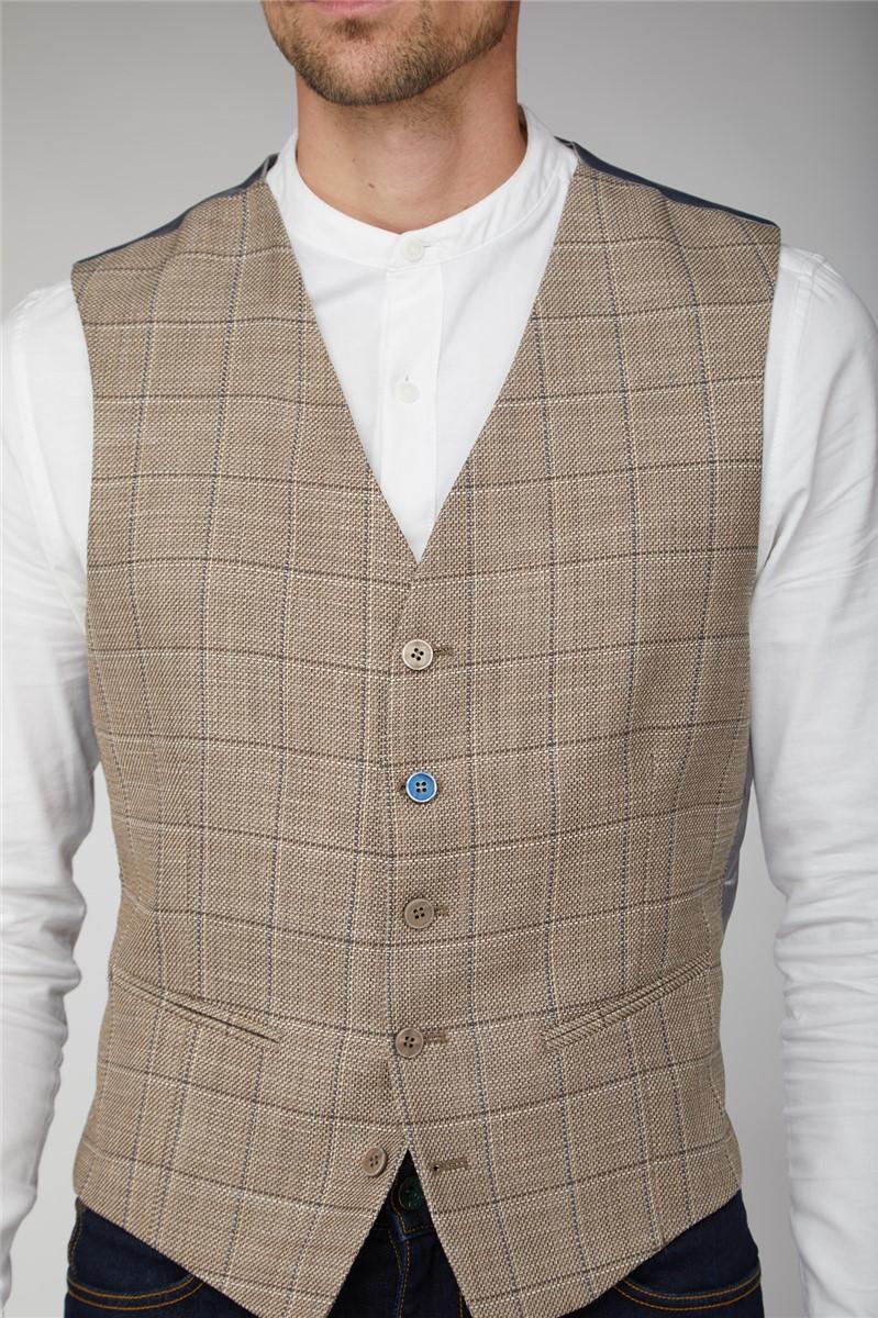 Scott by  Stone & Blue Overcheck Suit
