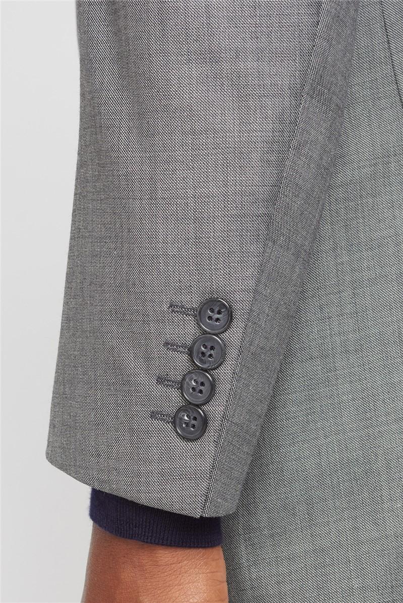 Grey Pick & Pick Regular Fit Suit