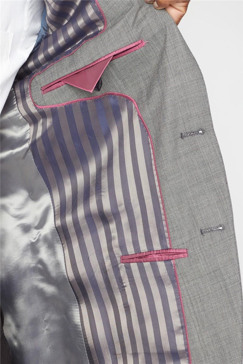 Grey Pick & Pick Skinny Fit Suit