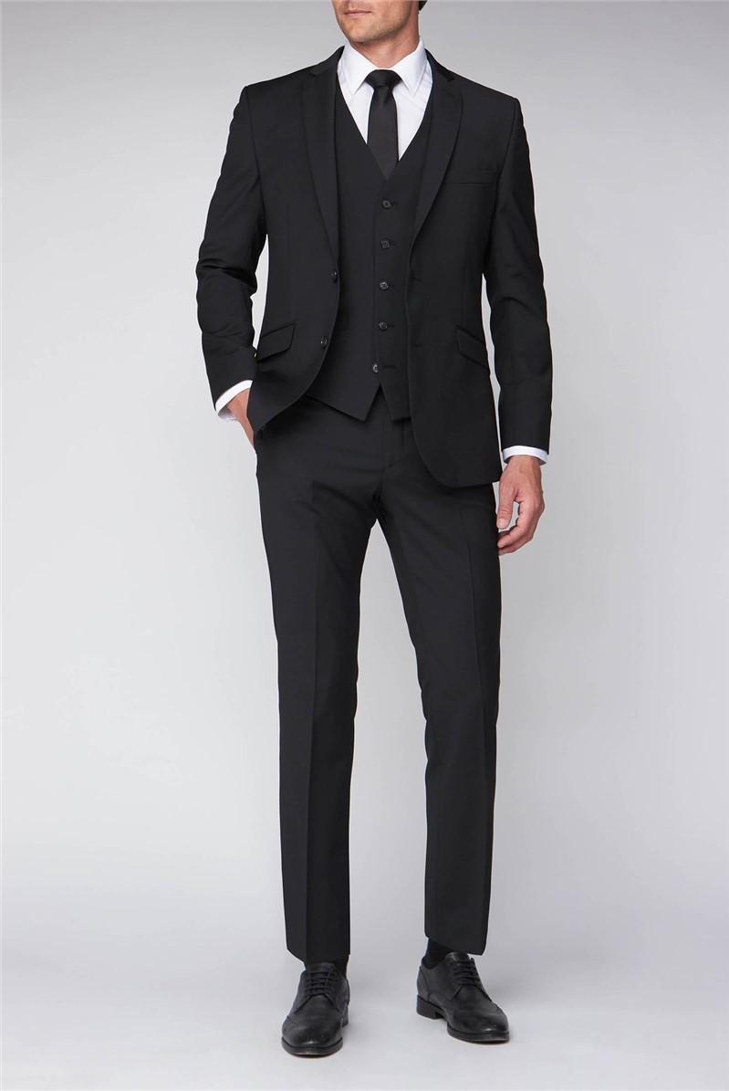 Black Classic Fit Suit