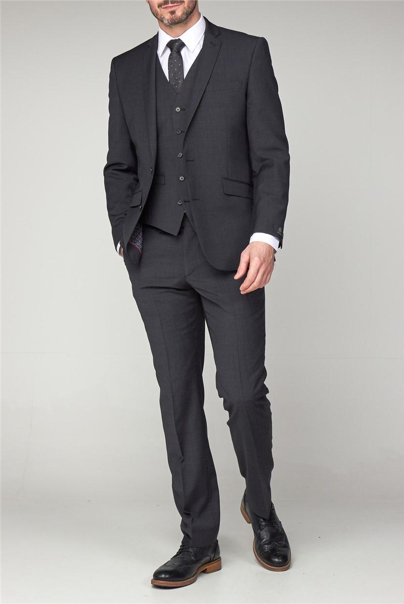 Charcoal Premier Fit Suit Trouser