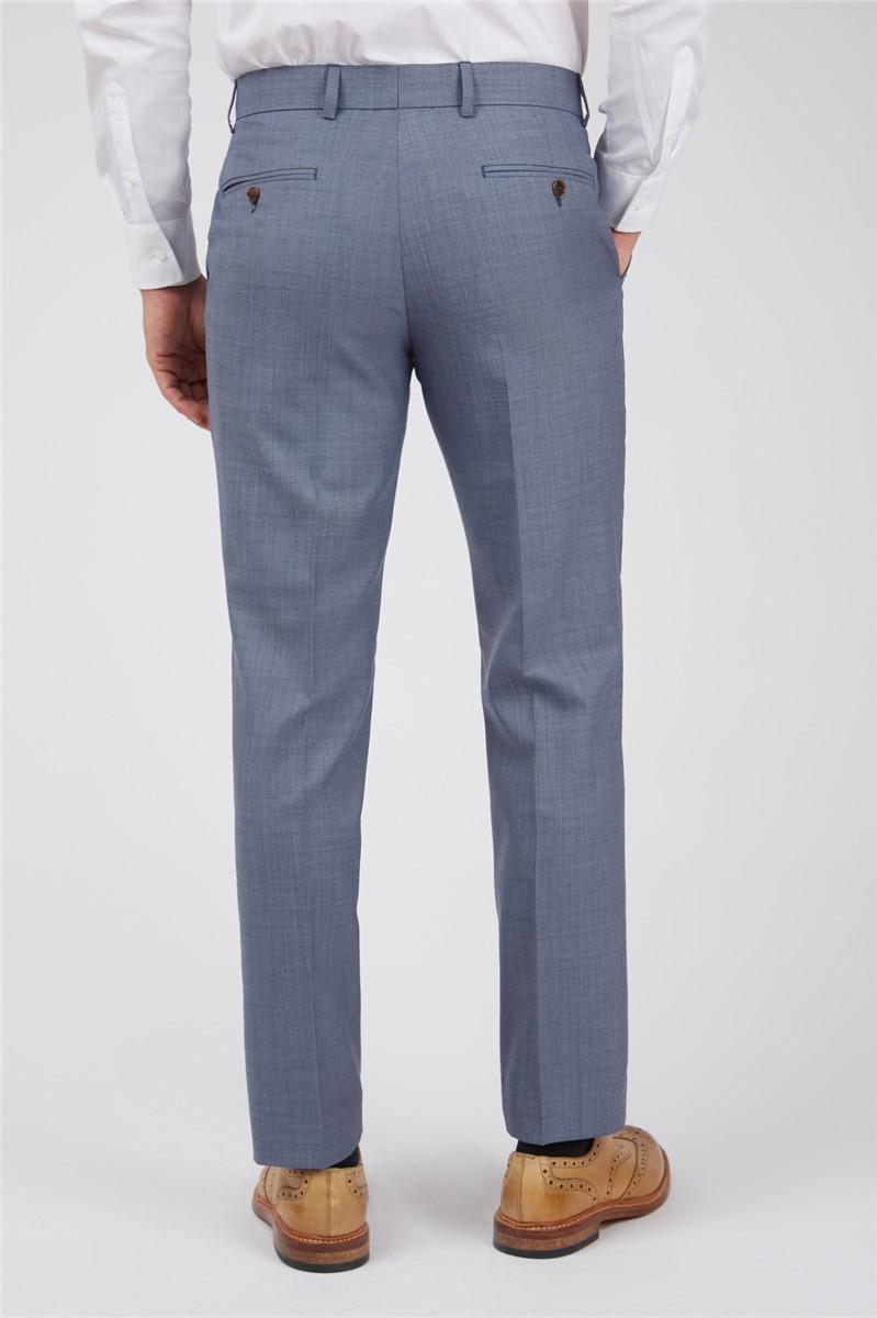 Light blue Sharkskin Waistcoat