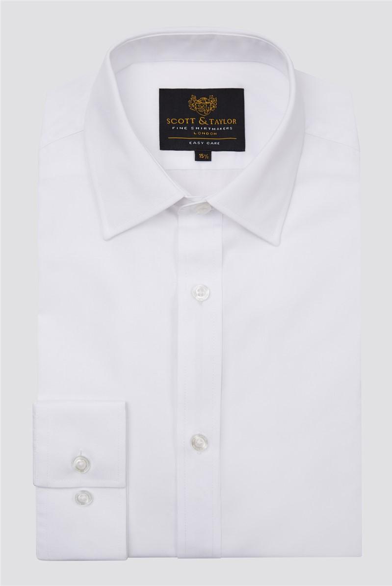 Scott & Taylor White Shirt