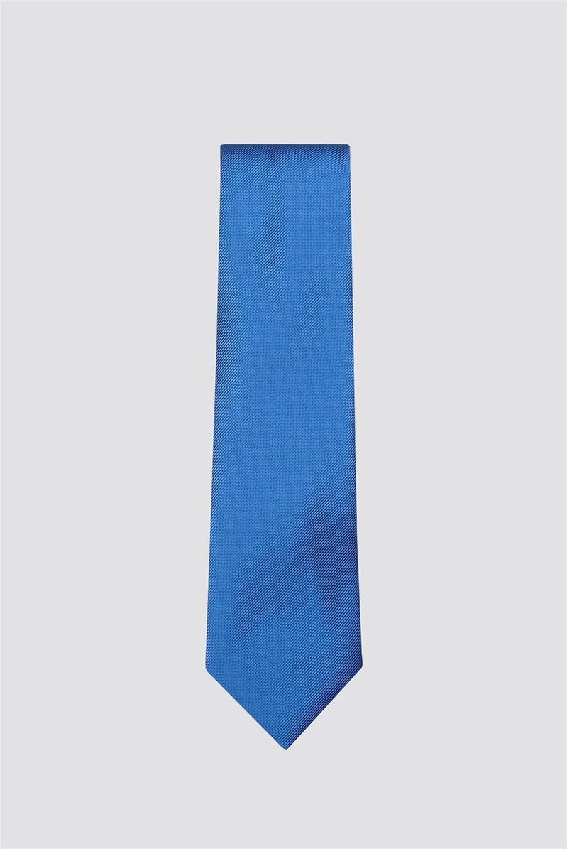 Scott & Taylor Teal Plain Tie