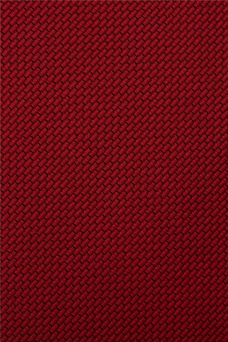 Red Plain Tie