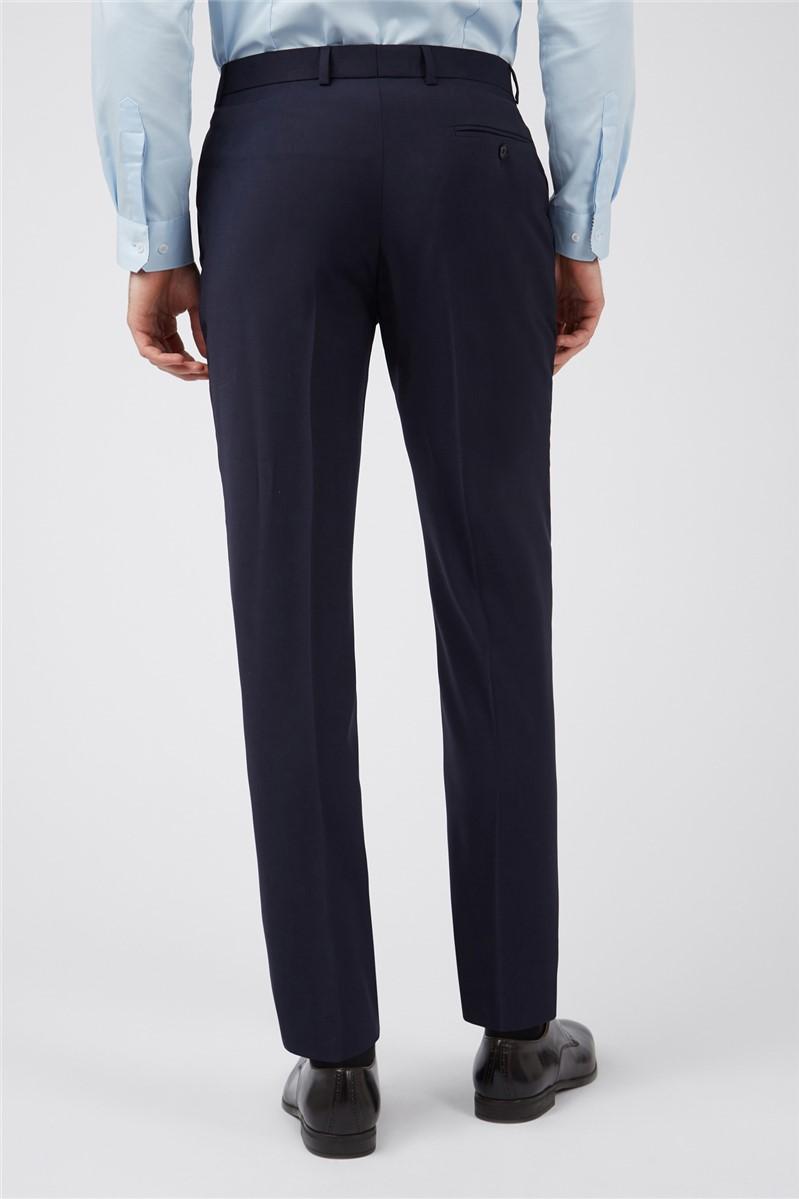 Navy Panama Slim Suit