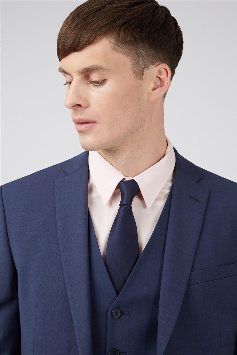 Blue Panama Regular Suit