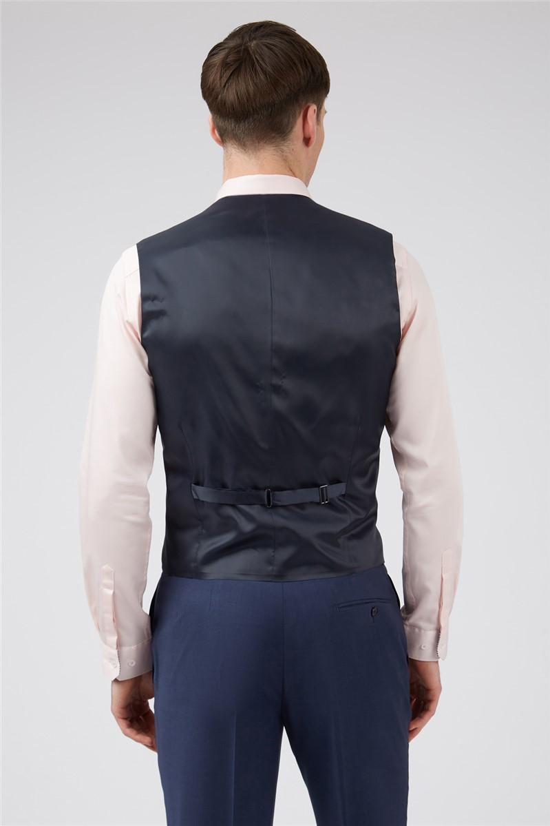 Blue Panama Slim Suit