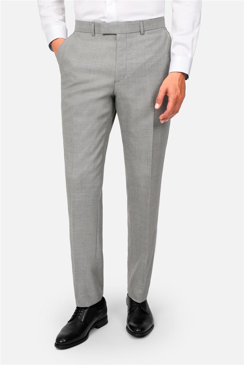 Light Grey Flannel Regular Fit Suit