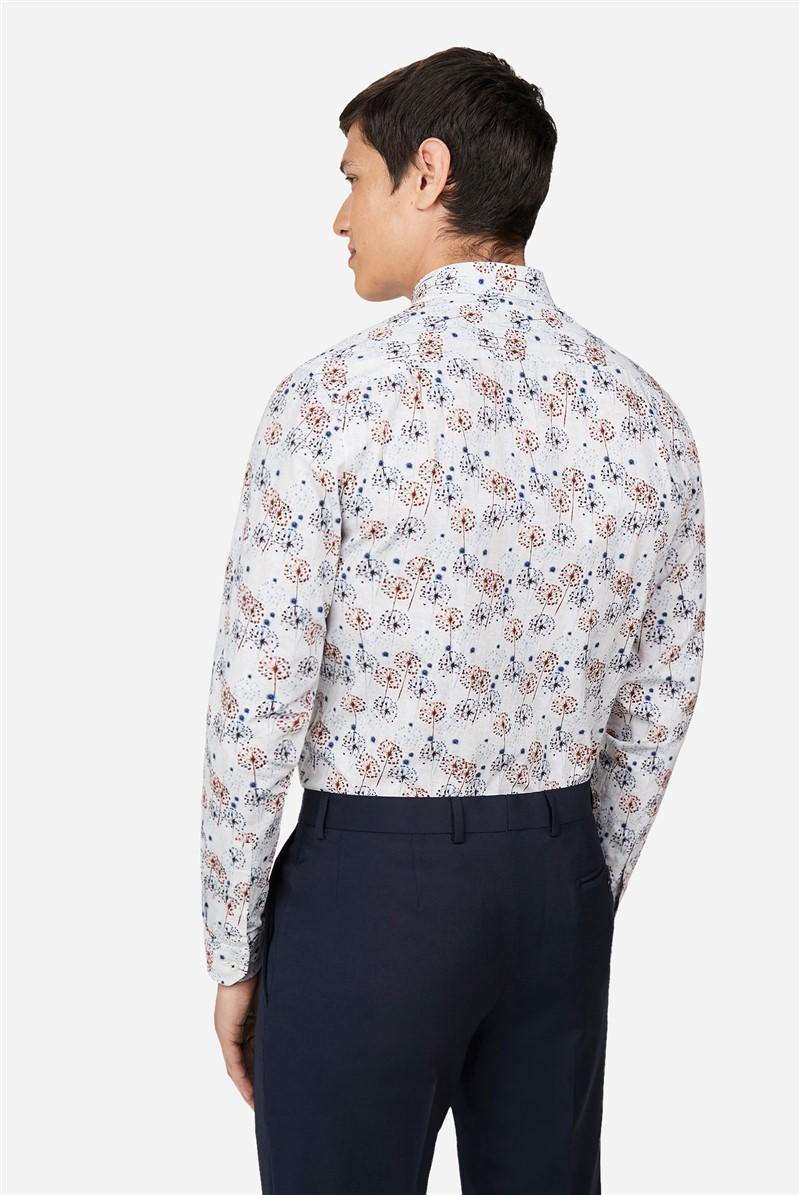 Dandelion Print Regular Fit Shirt