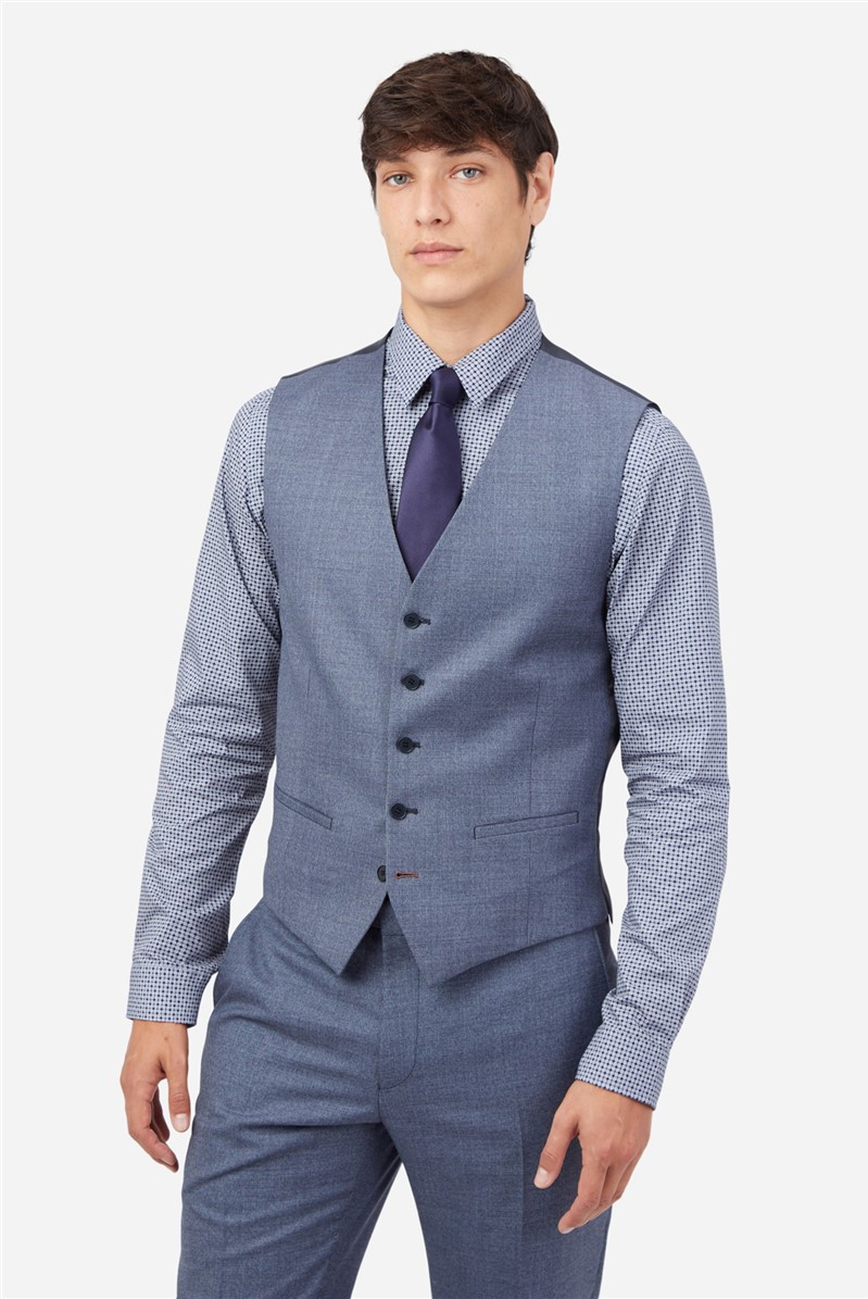 Airforce Texture Slim Waistcoat