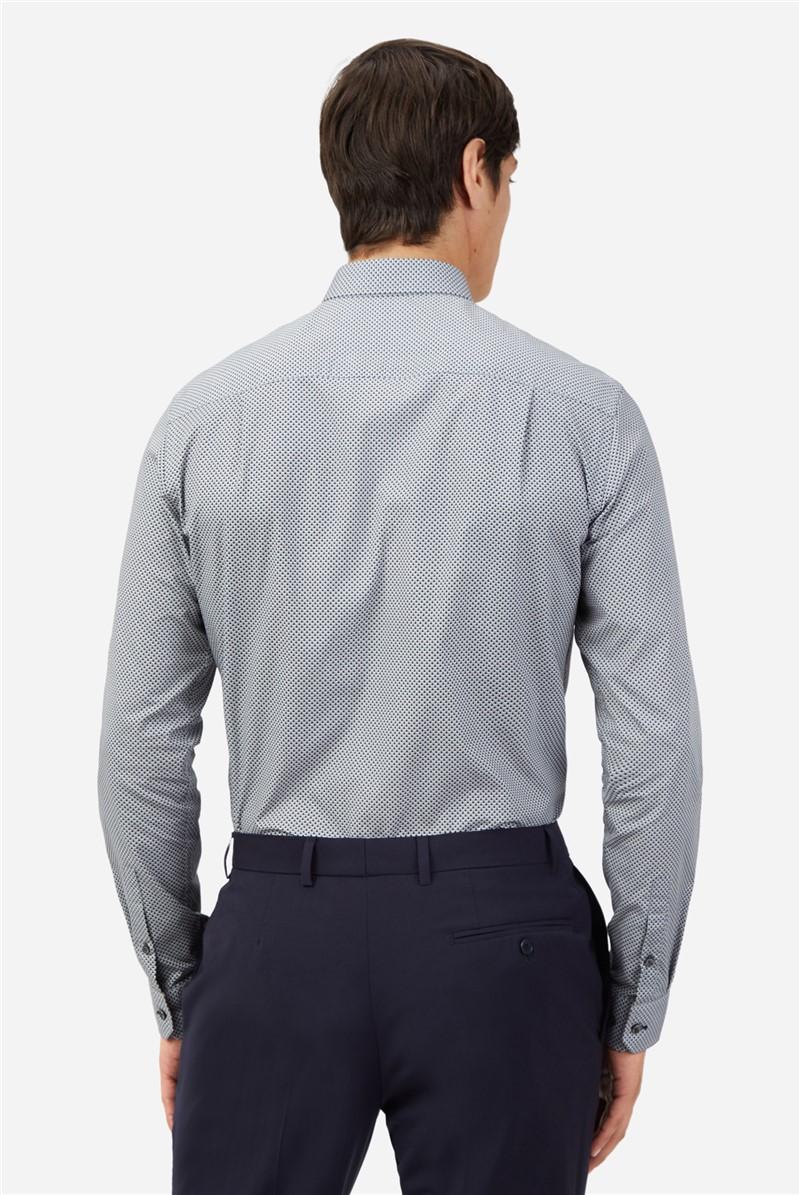 Monochrome Geometric Shirt