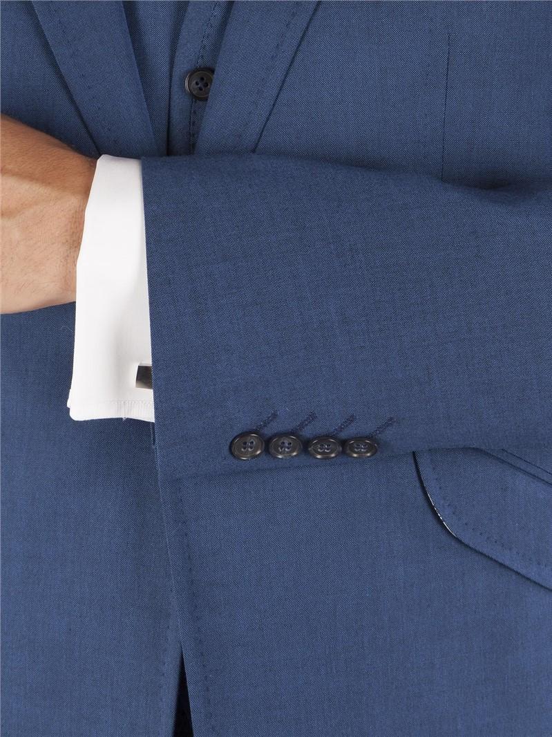 Blue Tonic Tailored Fit Waistcoat