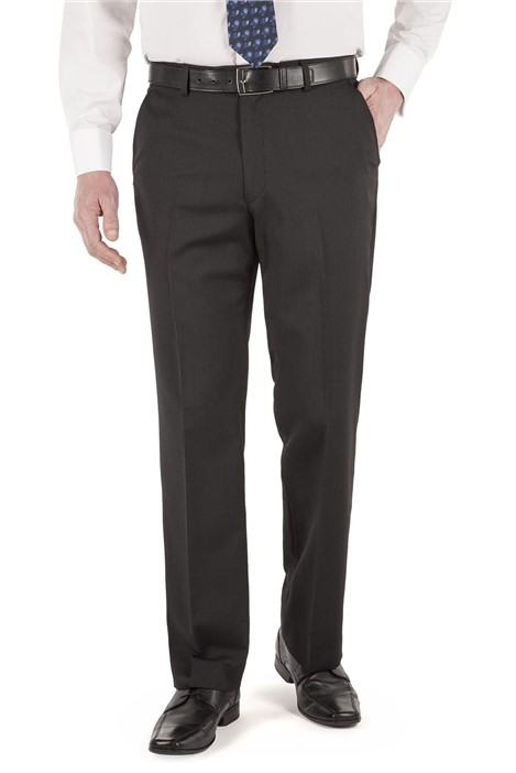 Karl Jackson Black Stripe Suit Trouser
