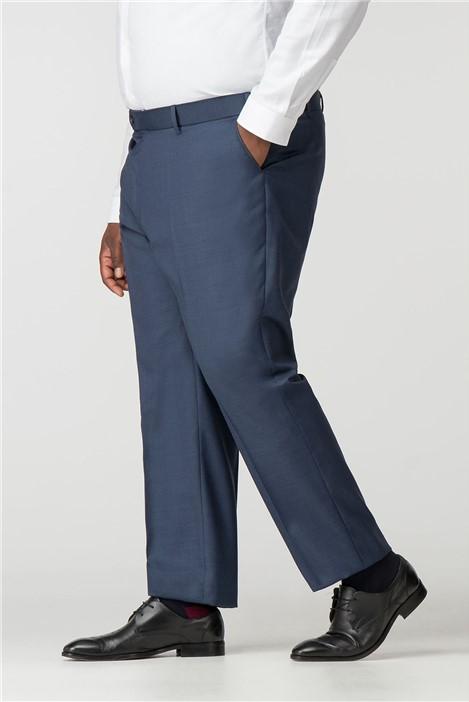 Centaur Big+Tall Blue Suit Trousers
