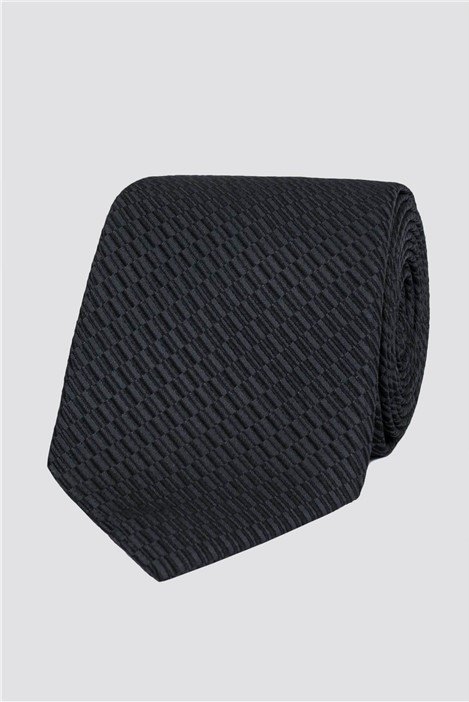 Stvdio Grey Irregular Textured Tie