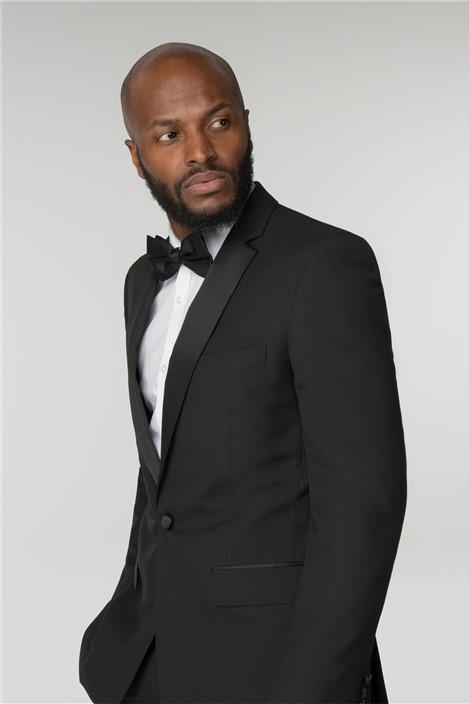 Occasions Regular Fit Black Dinner Suit