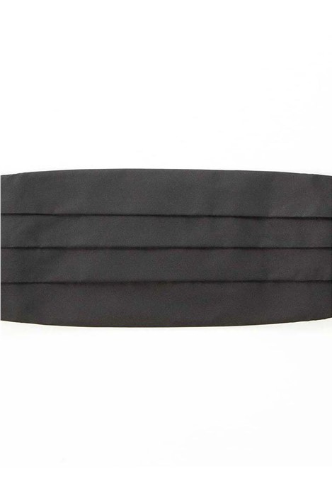 Jeff Banks Black Cummerbund