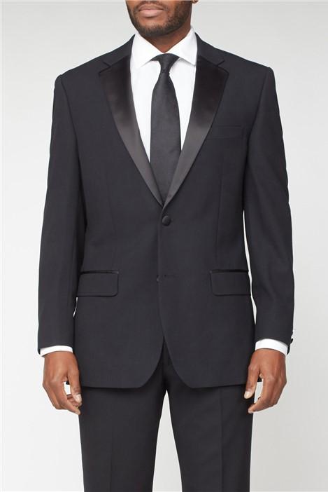 Pierre Cardin Black Twill Dinner Suit Jacket