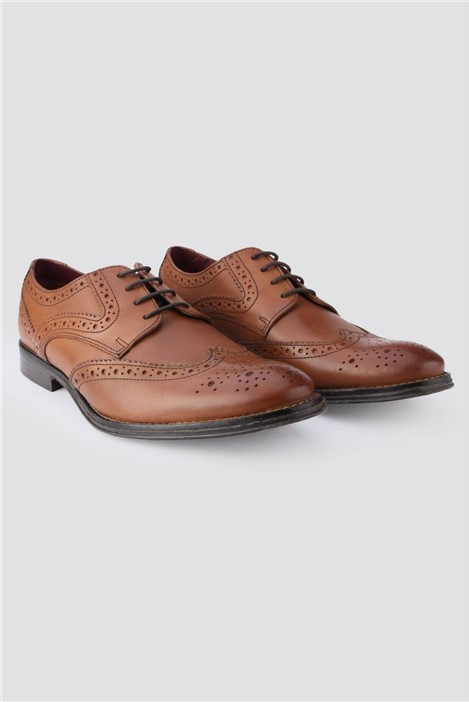 Limehaus Parker Tan Brogue