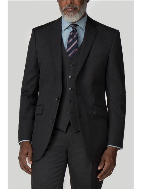 Pierre Cardin Performance Charcoal Twill Regular Fit Suit