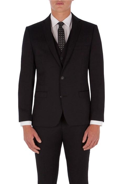 Ben Sherman Black Twill King's Fit Suit