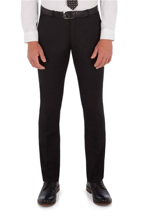 Ben Sherman Black Twill King's Fit Suit Trousers