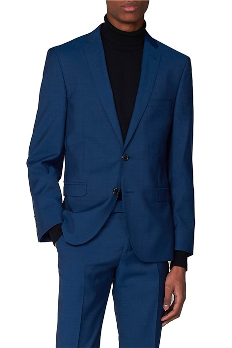 Ben Sherman Deep Teal Blue Tonic Camden Fit Suit