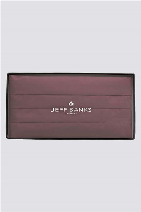 Jeff Banks Wine Cummerbund