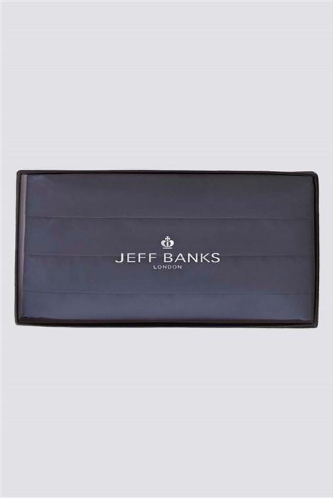 Jeff Banks Navy Cummerbund
