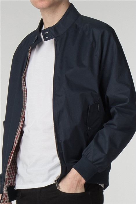 Ben Sherman Navy Harrington Jacket