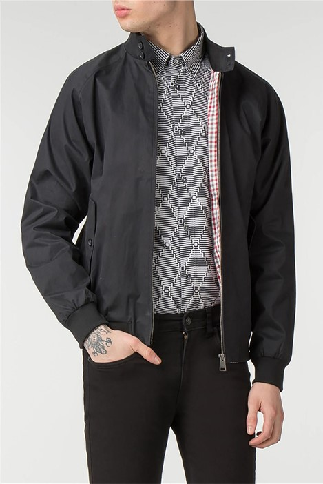 Ben Sherman Black Harrington Jacket