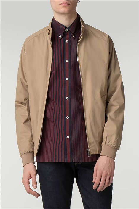 Ben Sherman Sand Harrington Jacket