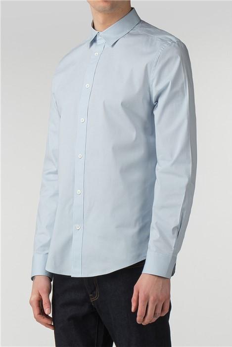 Ben Sherman Long Sleeve Stretch Poplin Shirt
