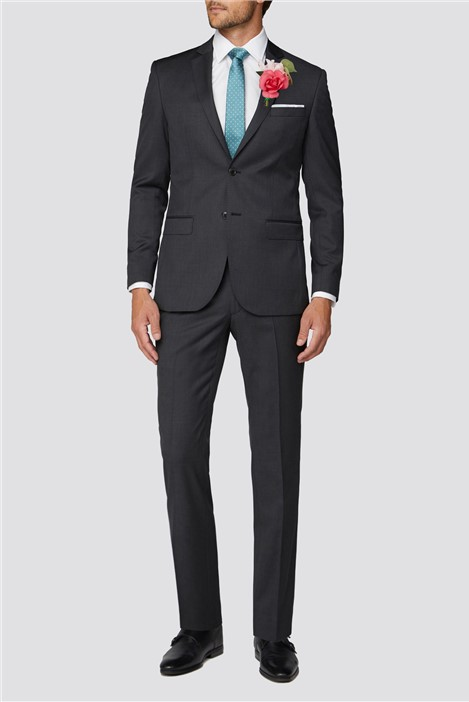 Alexandre of England Weston Charcoal Twill Suit