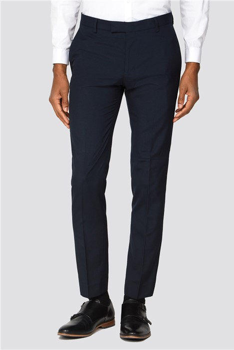 Red Herring Branded Navy Skinny Fit Trousers
