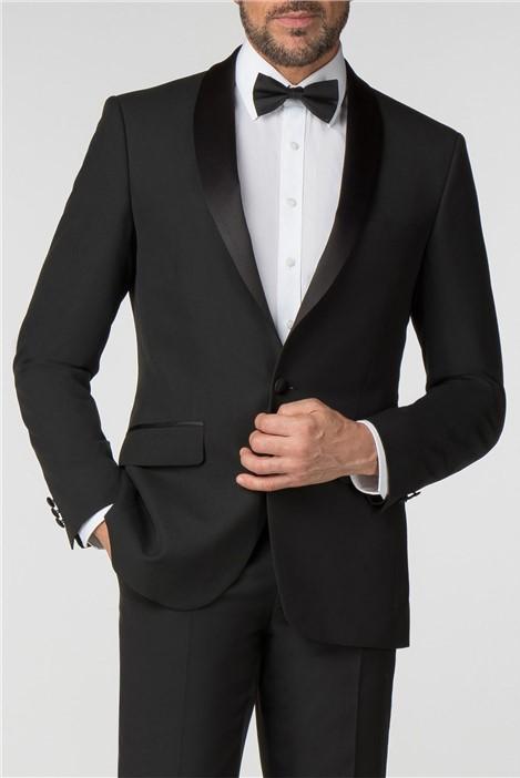 Scott & Taylor Satin Shawl Lapel Regular Fit Dresswear Jacket