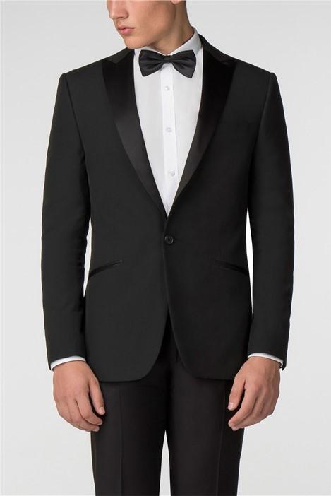 Limehaus Satin Lapel Slim Fit Tuxedo
