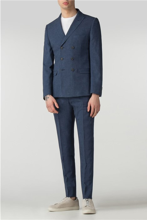 Ben Sherman Summer Blue Fleck Camden Fit Suit