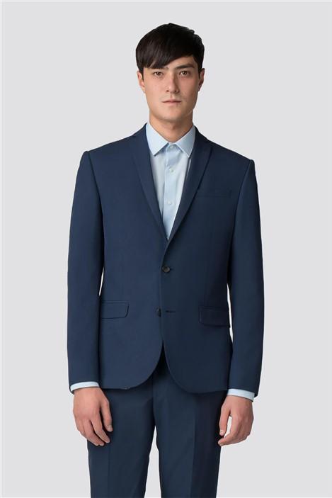 Limehaus Blue Panama Skinny Fit Suit