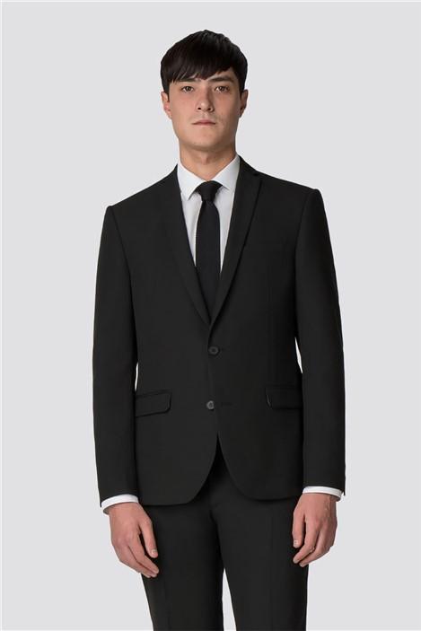 Limehaus Black Panama Skinny Fit Suit