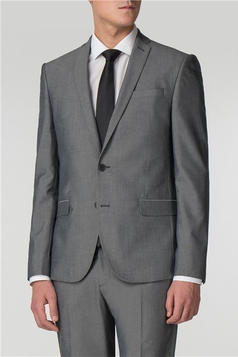 Limehaus Silver Grey Skinny Fit Suit