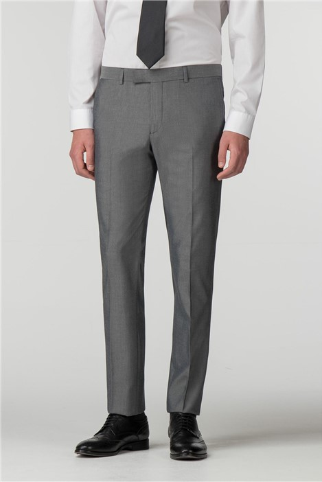 Limehaus Silver Grey Skinny Fit Trousers