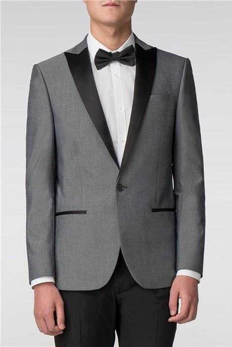 Limehaus Silver Slim Fit Tuxedo