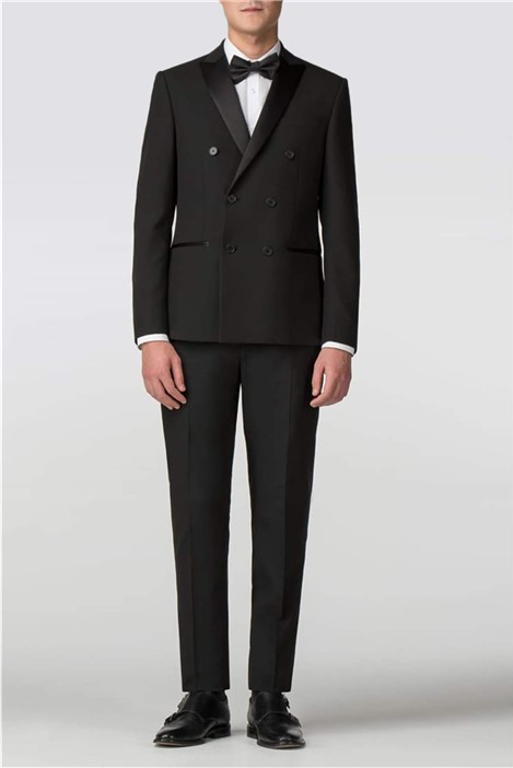 Limehaus Black Double Breasted Tuxedo